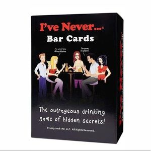 """I've Never"" Bar Cards, new in box, used once"